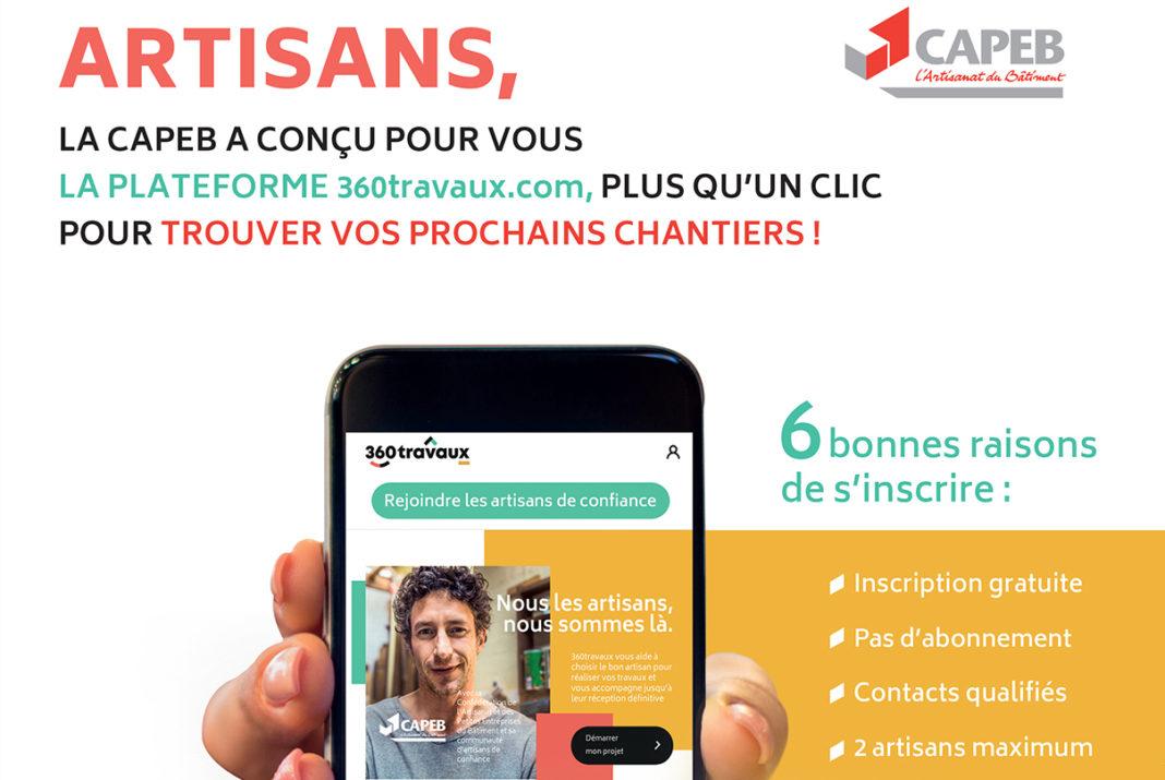 La Capeb lance, en partenariat avec plusieurs actionnaires, la première plateforme Web de mise en relation des artisans du bâtiment avec leurs futurs clients jusqu'à l'achèvement des travaux.