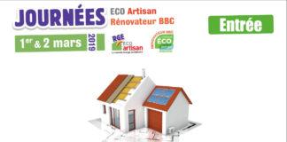 1er et 2 mars 2019 : la Capeb Normandie organise les Journées ECO Artisan rénovateur BBC