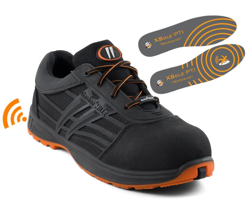 Gaston Mille chaussures connectées