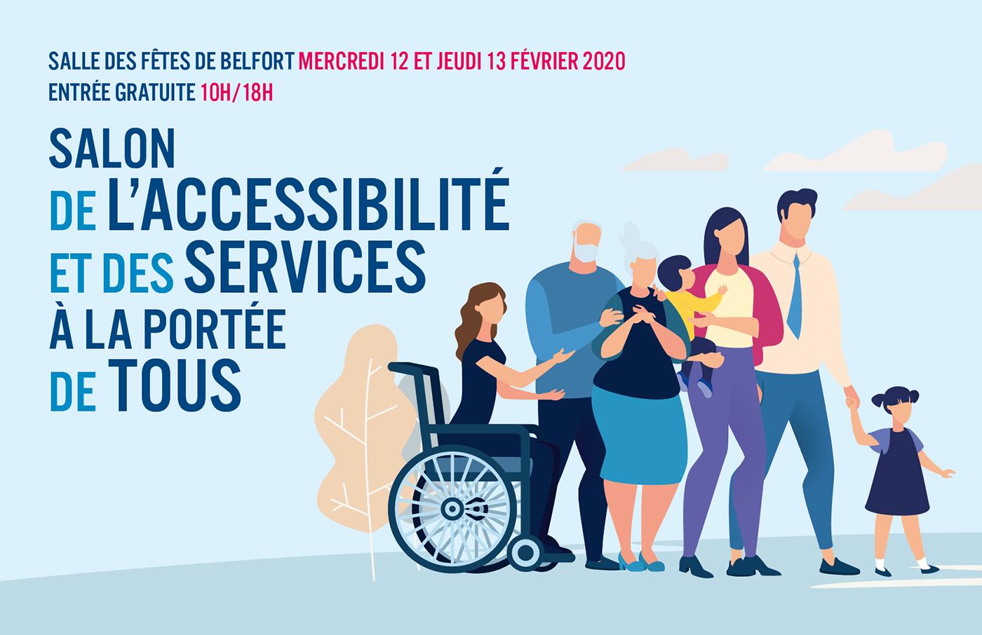 Accessibilite La Capeb Territoire De Belfort A Son Salon Le